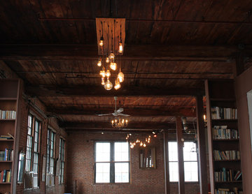 Warm Loft Lighting