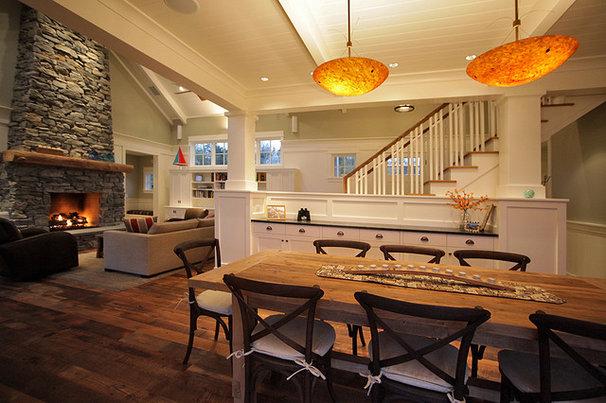 Rustic Dining Room by Warmington & North
