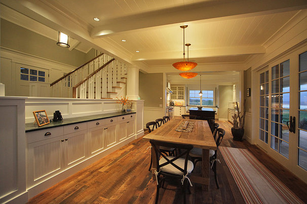 Traditional Dining Room by Warmington & North