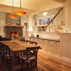 Rustic Dining Room by Warmington & North