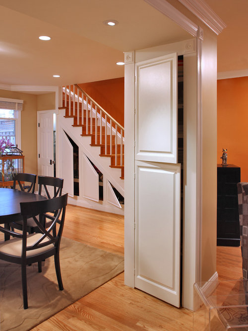 Under the stairs storage dining room design ideas for Dining room under stairs