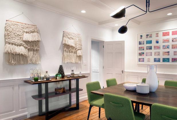Contemporary Dining Room by Rinaldi Interior Design