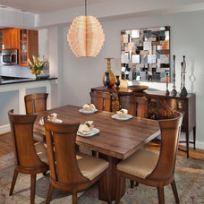 Contemporary Dining Room by Cynthia Prizant - Prizant Design, LLC