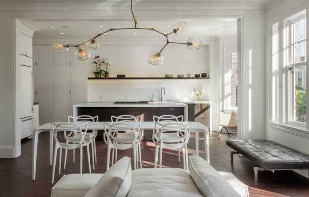 Contemporary Dining Room by Sutro Architects