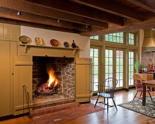 Fireplace Wood Flooring | Houzz
