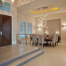 Contemporary Dining Room by Dave Brewer Homes