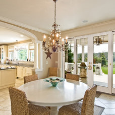 Traditional Dining Room by James Traynor Custom Homes