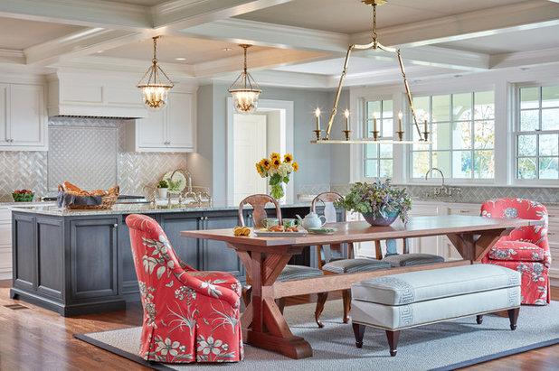 Traditional Dining Room by Karen Renee Interior Design