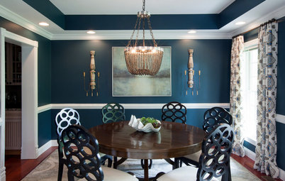 Eclectic Matchups: 10 Round Dining Tables With Chairs