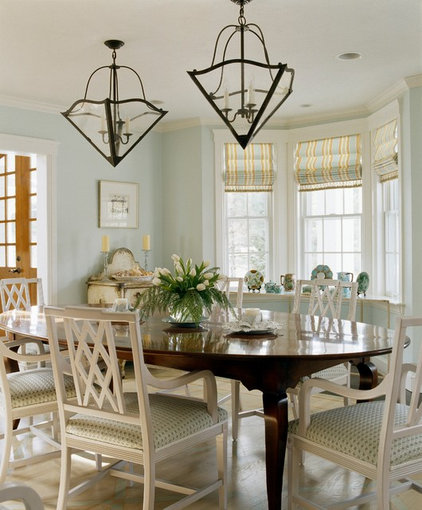 Traditional Dining Room by Nancy McLaughlin Interiors