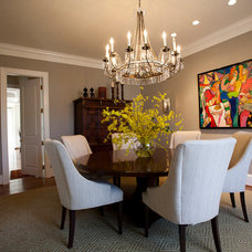 Traditional Dining Room by Waterlily Interiors
