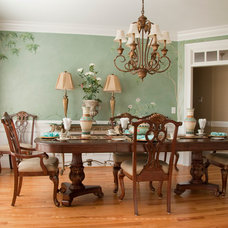 Traditional Dining Room by DESIGNS BY DONNA
