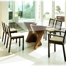 Contemporary Dining Room by HOME RESOURCE