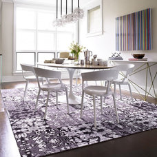 modern dining room by FLOR
