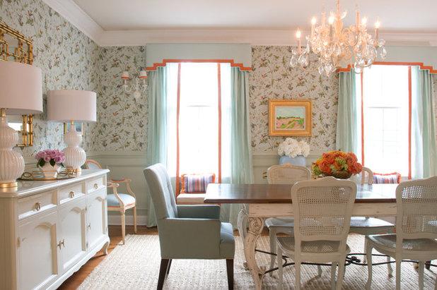Traditional Dining Room by Stephanie Kraus Designs, LLC