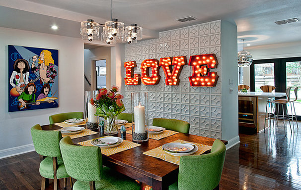 Modern Dining Room by Bryant Hill Media