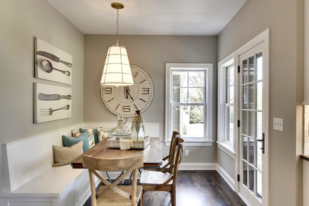Traditional Dining Room by Knight Construction Design Inc.