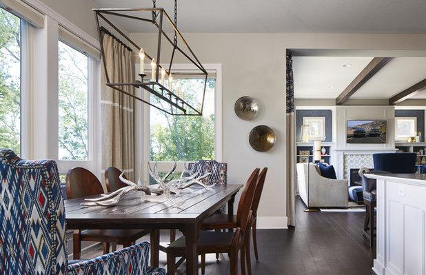 Transitional Dining Room by Vivid Interior Design - Danielle Loven