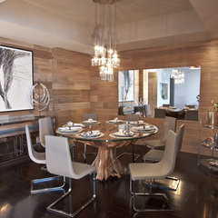 modern dining room by DKOR Interiors Inc.- Interior Designers Miami, FL