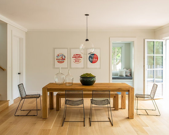 Transitional Dining Room Design Ideas, Remodels & Photos