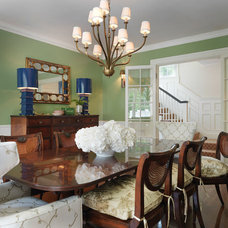 Traditional Dining Room by Hudson Interior Design