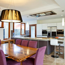 Contemporary Dining Room by Victoria's Interiors