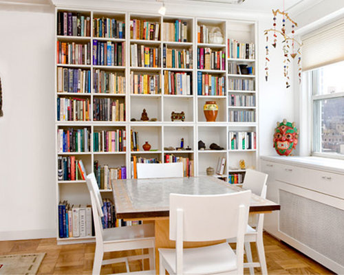 Dining Room Built In Bookcase Small Design Ideas