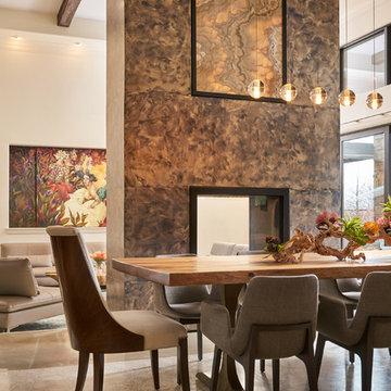 Wesley-Wayne Interiors Dining Rooms