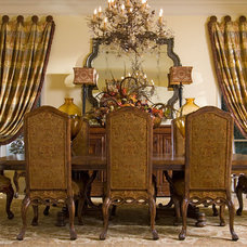 Traditional Dining Room by Wesley-Wayne Interiors, LLC
