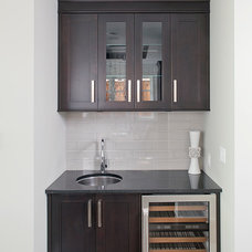 Contemporary Dining Room by Old World Kitchens & Custom Cabinets