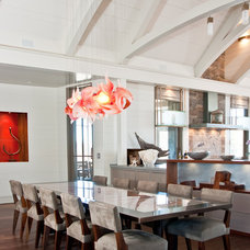 Contemporary Kitchen by Martha's Vineyard Interior Design
