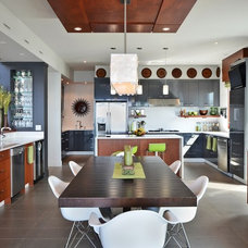 Contemporary Dining Room by Wakefield Construction Inc.