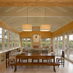 traditional dining room by Nick Noyes Architecture