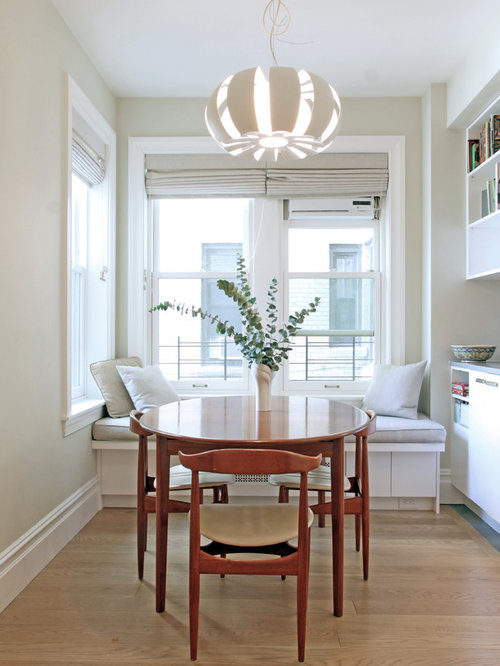Breakfast nook ideas houzz for Small dining room ideas houzz