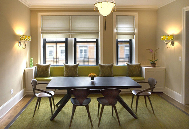 Contemporary Dining Room by Perianth Interior Design