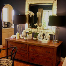 Eclectic Dining Room by bryan wark designs, Inc.