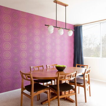West Hollywood Mod Dining Room