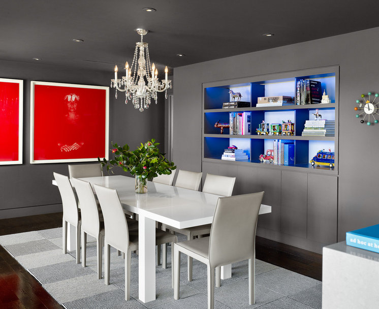 Contemporary Dining Room by Specht Harpman Architects