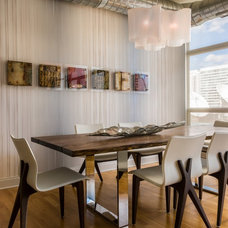 Contemporary Dining Room by Kaufman Segal Design