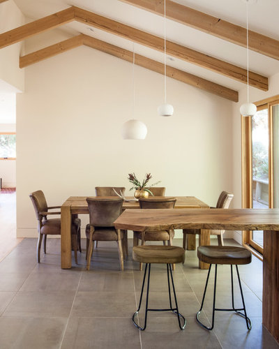 Midcentury Dining Room by Craig O'Connell Architecture