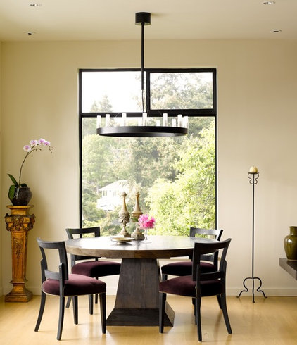 contemporary dining room by Gregory Carmichael