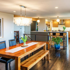 Contemporary Dining Room by ENVISION/ Envision Homes