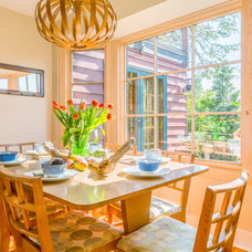 Beach Style Dining Room by Cassie Daughtrey Realogics Sotheby's Realty