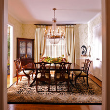 Traditional Dining Room by Cindy Aplanalp-Yates & Chairma Design Group
