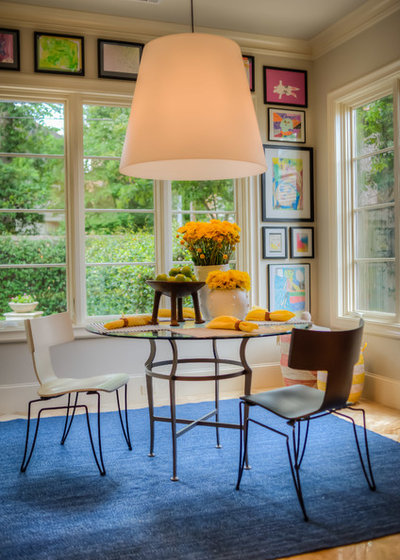 Modern Dining Room by Janet Gust Design Group