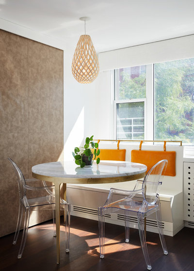 Contemporary Dining Room by ASG Construction Group