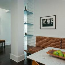 Contemporary Dining Room by Ondine Karady Design