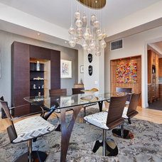 Contemporary Dining Room by StyleHaus Interiors