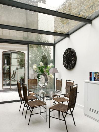 Contemporáneo Comedor by Lex McMillan Architects Ltd