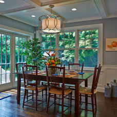 Traditional Dining Room by Sleepy Hollow Custom Kitchens